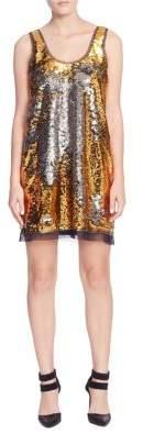 Catherine Malandrino Louisa Sequin Tank Dress