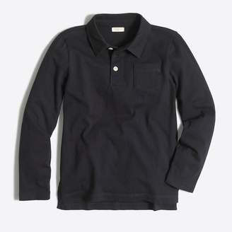J.Crew Factory Boys' long-sleeve polo shirt