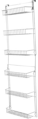 Over-the-Door Bathroom Organizer with 6 Shelves by Lavish Home