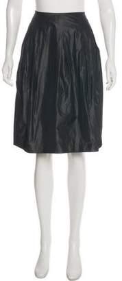 Vince Flared Knee-Length Skirt
