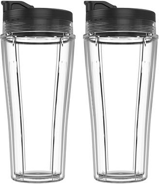 Ninja 24 oz. Single-Serve Cup & Lid Double Pack