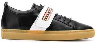 Lanvin low-top velcro strap sneakers