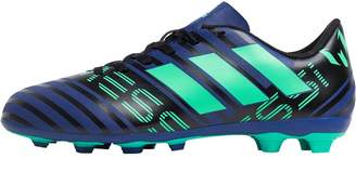 adidas Junior Nemeziz Messi 17.4 FxG Football Boots Unity Ink/Hi-Res Green/Core Black