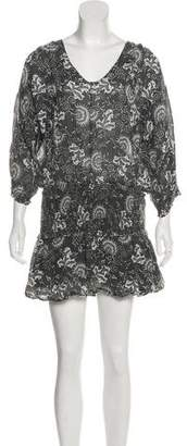 Ulla Johnson Drop Waist Mini Dress