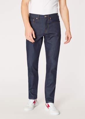 Paul Smith Men's Classic-Fit Indigo Denim 'Rigid Western Twill' Jeans