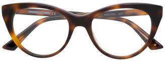 McQ Eyewear cat eye glasses