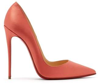 Christian Louboutin So Kate 120 Satin Pumps - Womens - Pink