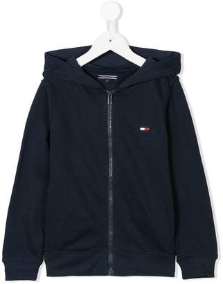 Tommy Hilfiger Junior long-sleeve zipped hoodie