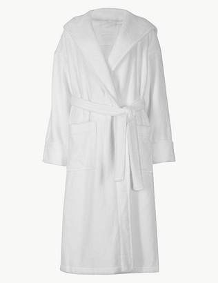 Marks and Spencer Pure Cotton Towelling Dressing Gown