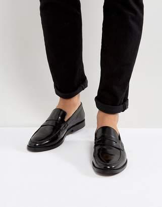 WALK LONDON Walk London West Leather Penny Loafers