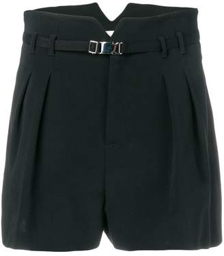 RED Valentino pleated tailored shorts