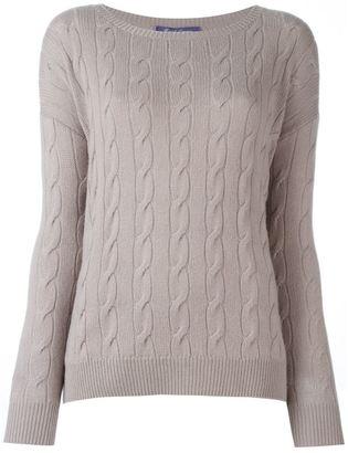 Ralph Lauren cable knit sweater $899.47 thestylecure.com