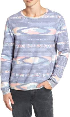 Sol Angeles Sunset Ikat Crewneck Pullover