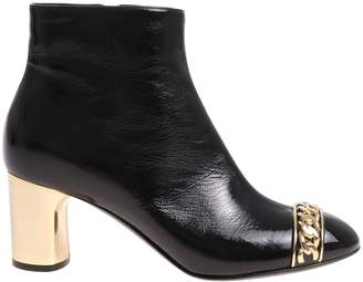 Casadei Chain Ankle Boots