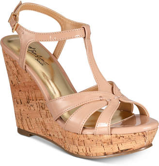 Thalia Sodi Valerrina Platform Wedge Sandals, Created for Macy's Women's Shoes