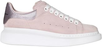 40mm Suede Sneakers W/ Metallic Detail $575 thestylecure.com