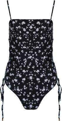 New View Peony Swim Whimsy One Piece