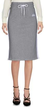 Stussy Knee length skirt