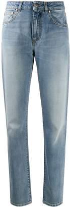 PT05 patch straight-leg jeans