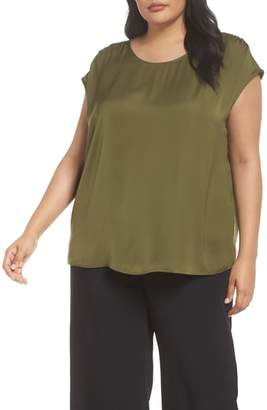 Sejour Ruched Shoulder Shell