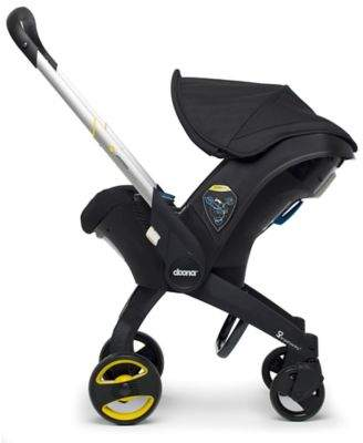 DoonaTM Infant Car Seat/Stroller with Latch Base in Black $499.99 thestylecure.com
