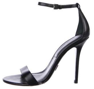Michael Kors Leather Open-Toe Sandals