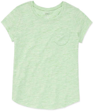 Arizona Short Sleeve Solid Fave Tee - Girls' 4-16 & Plus