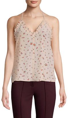 Rebecca Taylor Mia Silk Floral Camisole