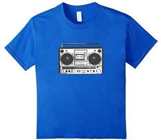 Boombox 80's Ghetto Blaster T-Shirt Boom Box Tee