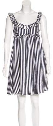 L.A.M.B. Striped Mini Dress