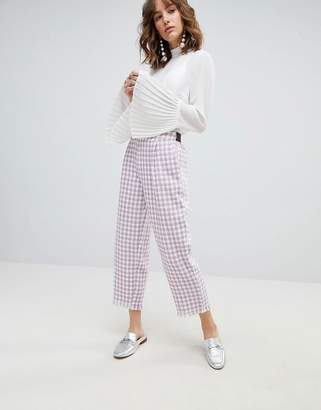 Sister Jane Pants In Tweed Houndstooth Co-Ord