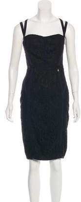 Elisabetta Franchi Sleeveless Knee-Length Dress