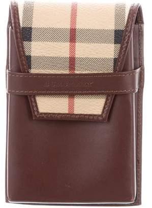 Burberry Leather Cigarette Case