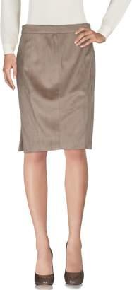 Kangra Cashmere Knee length skirts