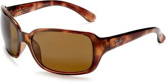 Ray-Ban Women's Rb4068 RB4068 Polarized Square Sunglasses
