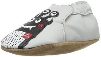 Robeez Boys' Soft Soles Crib Shoe