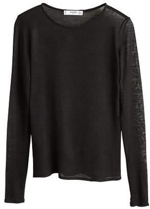 MANGO DevorA knit t-shirt