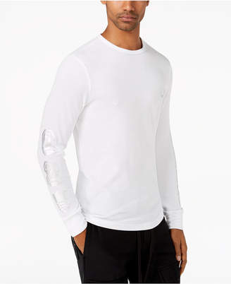 True Religion Men's Logo-Print Thermal-Knit T-Shirt