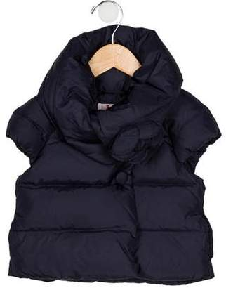 Il Gufo Girls' Quilted Down Vest