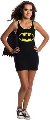 Rubie's Costume Co Costume DC Comics Justice League Superhero Style Teen Dress with Cape Batgirl