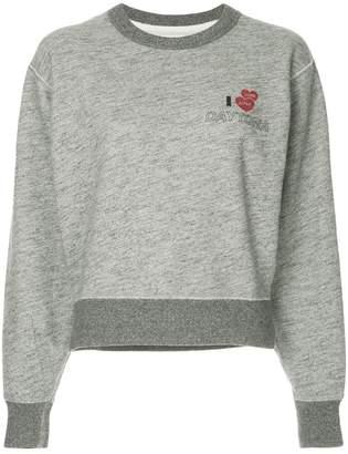 Rag & Bone cropped sweatshirt
