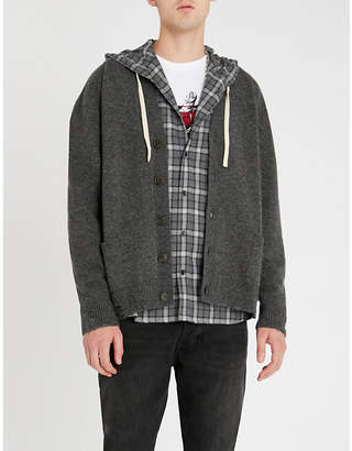 The Kooples V-neck knitted cardigan