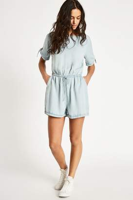 Jack Wills Hayes Chambray Playsuit
