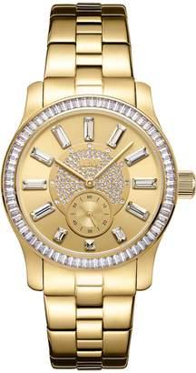 JBW Women's J6349C Celine 0.09 ctw 18k -plated stainless-steel Diamond Watch