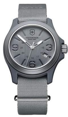 Victorinox Men's Original Grey Dial and Strap Watch Watch 241515