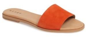 Women's Hinge 'Mere' Flat Slide Sandal $59.95 thestylecure.com