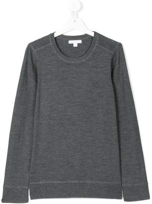 Burberry Check elbow patch jumper
