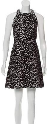 Giambattista Valli Jacquard Mini Dress