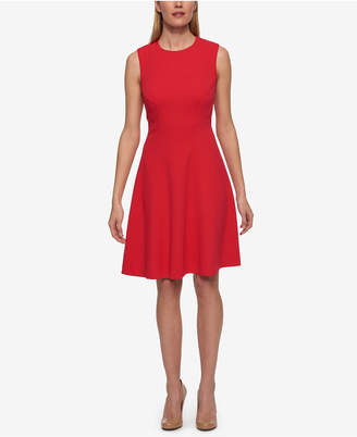 Tommy Hilfiger Fit & Flare Dress $99 thestylecure.com