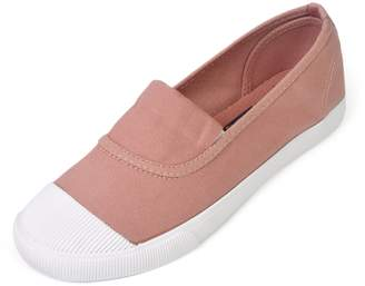 Roger Vivier Royal Victory R&V Women's Classic Canvas Slip-On Shoes Walking Flats 4Colors
